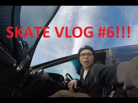 What's In My Skate Bag? Skate Vlog #6