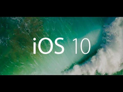 Novedades iOS 10, resumen de nuestro experto Apple