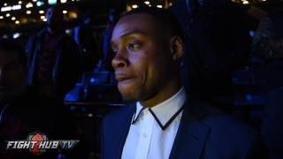 Errol Spence Says Kell Brook is lazy and fat; If they fight picks Pacquiao over Amir Khan