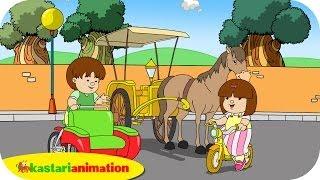 Kutahu Nama Kendaraan (becak, delman, sepeda) - Kastari Animation Official