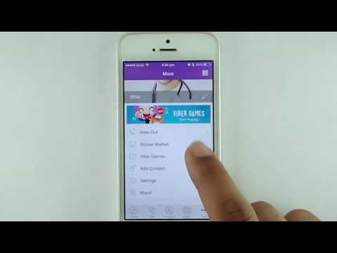 Download and install Viber Messenger on iPhone