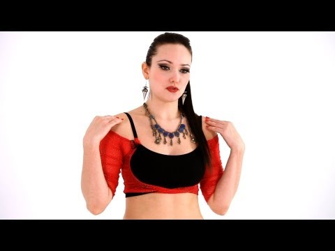 How to Do Shoulder Shimmy & Hip Slide | Belly Dance