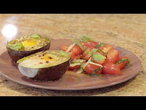 Baked Eggs in Avocado Boats   JOY of KOSHER with Chef Eitan Bernath