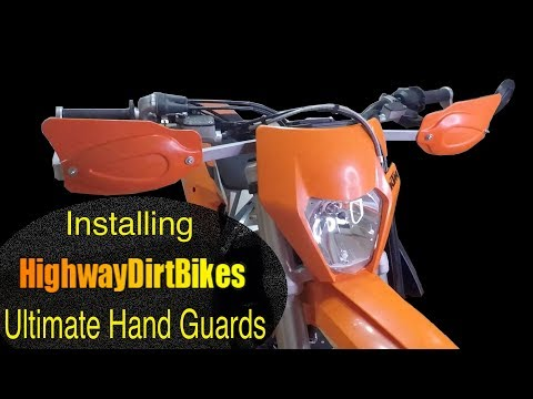 Installing Highway Dirt Bikes Ultimate Hand Guards on a KTM