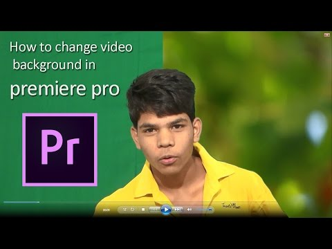 How To Change Video Background In Adobe Premiere Pro.