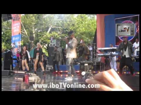 Ne-Yo - Lets Go LIVE Good Morning America Summer Concert Series Central Park NYC iboTV
