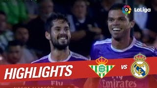 Resumen de Real Betis vs Real Madrid (1-6)