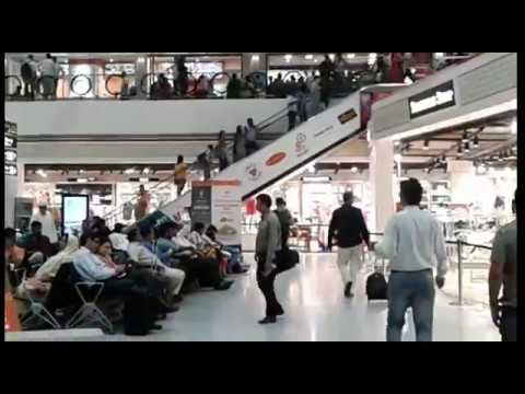 Indira Gandhi Airport -Domestic Terminal D1 : Waiting Hall