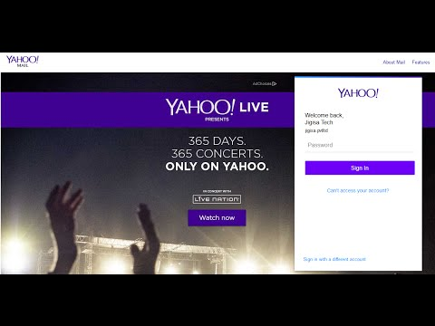 How To Log In To Yahoo Mail | Yahoo Email Login