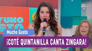 María José Quintanilla - Zingara - Mucho Gusto 2017