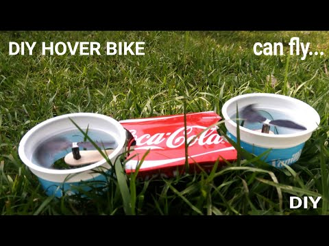 How to make a Powerful Hover bike that can Fly