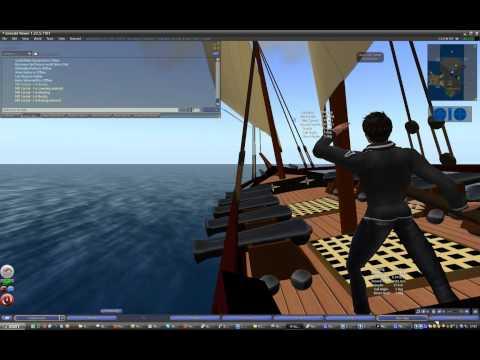 Second Life Sailing Tutorial