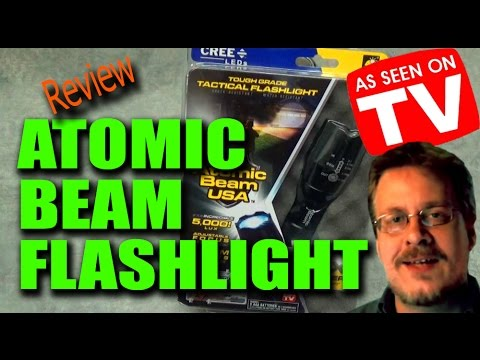 Atomic Beam USA Flashlight Review - Worth the Money?