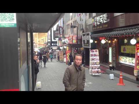 Myong dong foods street, Seoul 2