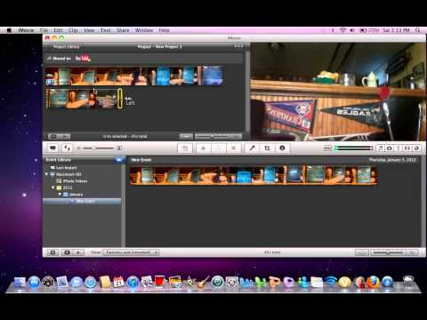 Flip Videos and Photos on IPhoto