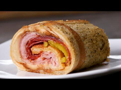 Meat Lovers Sandwich Roll