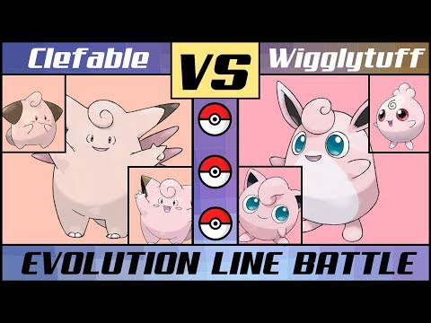 Xxx Mp4 CLEFABLE Vs WIGGLYTUFF Pink Evolution Line Battle Pokémon Sun Moon 3gp Sex