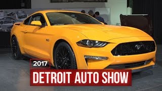 2018 Ford Mustang brings more power, better handling, angry face