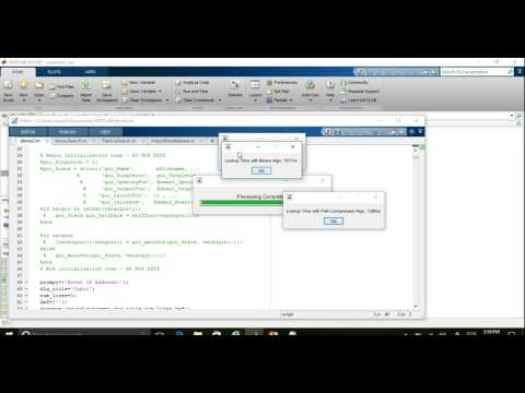 IP LookUp Scheme(Demonstration) Using MATLAB