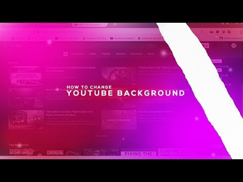 How To Change YouTube Background Color