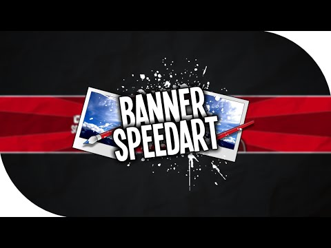 Banner Speedart - (paint.net)