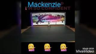 Mackenzie ziegler comerte toda