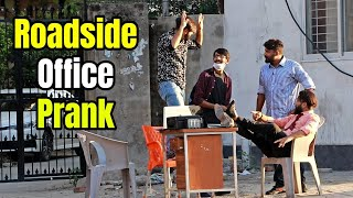 Roadside Office Prank (EPIC REACTIONS) - Pranks in Pakistan - LahoriFied