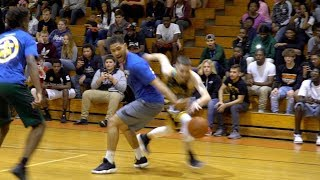 The Professor vs Legit Hoopers & D1 recruits... Gets Locked Up, Then Recovers