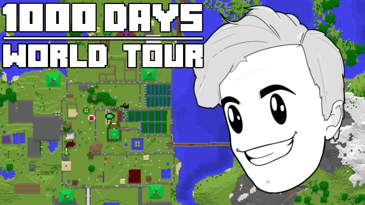 1000 Days - [Hardcore Minecraft World Tour]