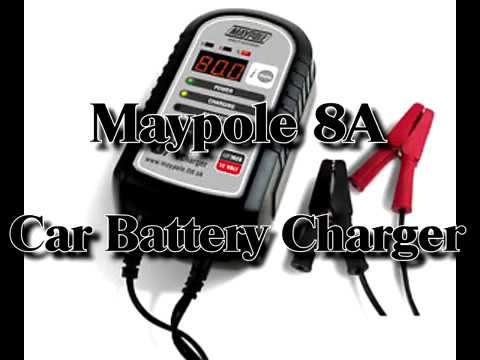Maypole 8A Electronic Smart Car Battery Charger