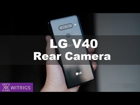 LG V40 Rear Camera Replacement