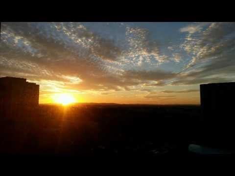 Time Lapse Sunset over Dulles