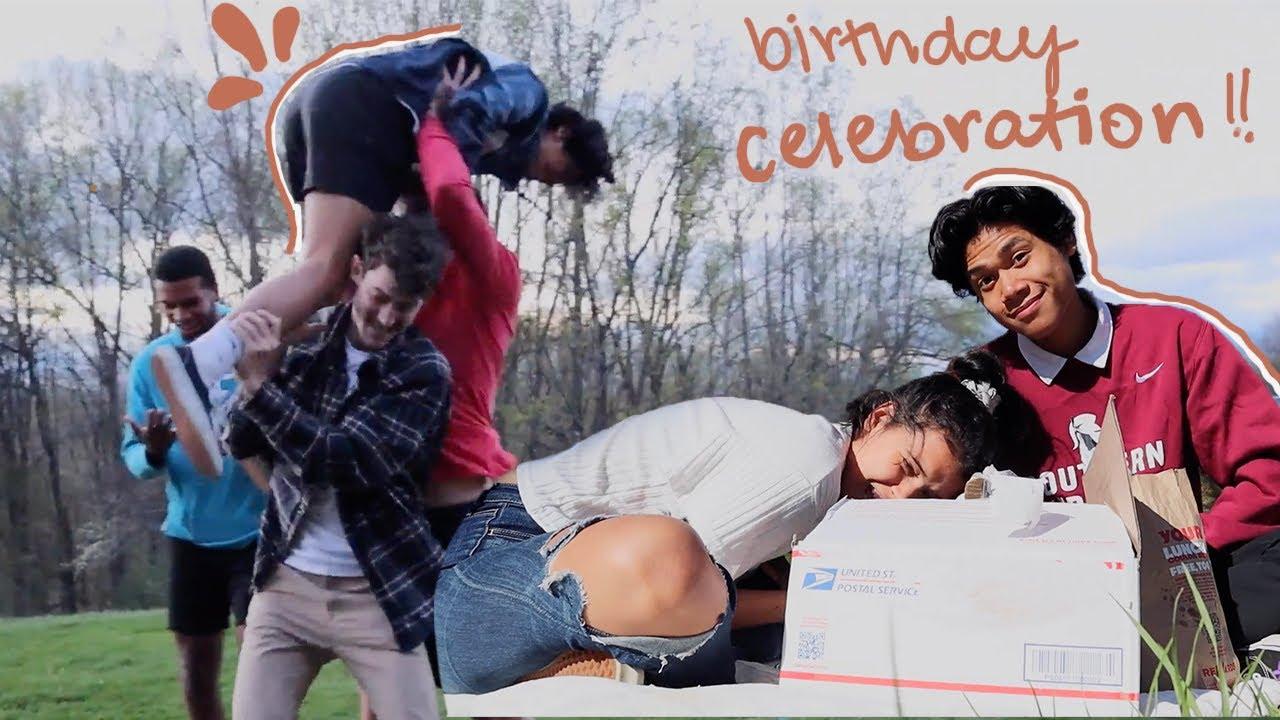 I threw him a surprise birthday party!! *he had NO IDEA!!