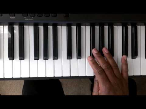 Major Scales: How to Play D Major Scale on Piano (Right and Left hand)