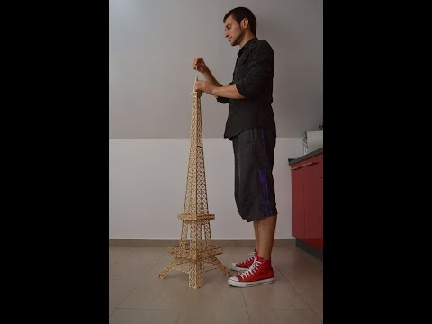 Making the Eiffel Tower out of matches