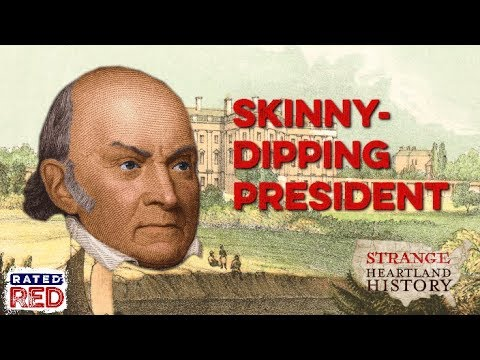 When a President Almost Died While Skinny-Dipping | Strange Heartland History