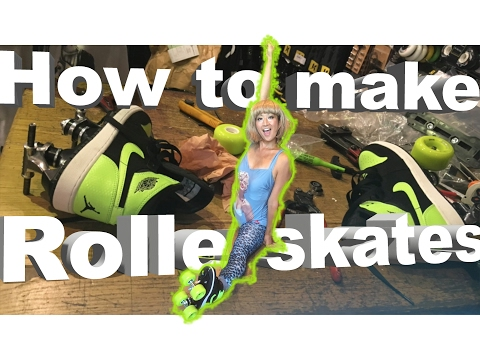 How to make roller skates custom original Sneaker