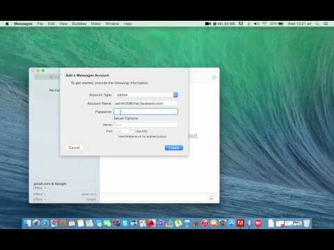 How to Sync (connect) Facebook account with iMessage in Macbook pro,Macbook air or iMac