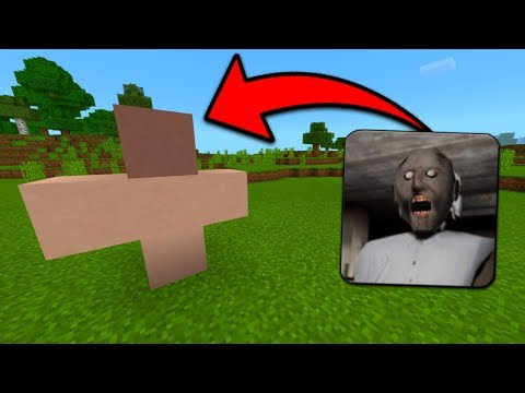 How To Spawn Granny Horror in Minecraft Pocket Edition (Granny Horror Addon)