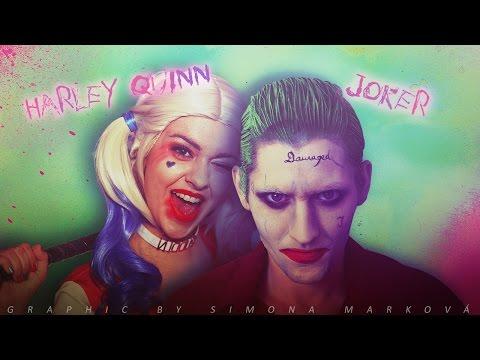 Harley Quinn & Joker • Make-up Tutorial #HalloweenŠpeciál | + SCENES