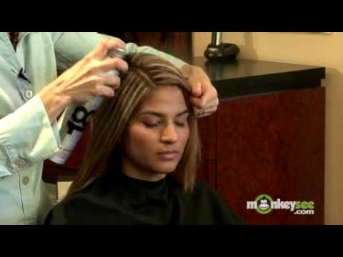 Prom Hairstyles - Straight Look