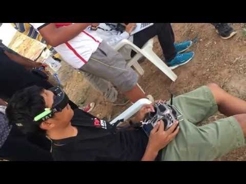 IDRL TEST FLYING Pravesh & Bhavesh Flight Session (First drone race in India)