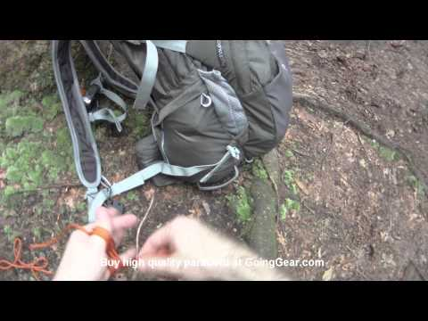 How to make a mini paracord fast rope