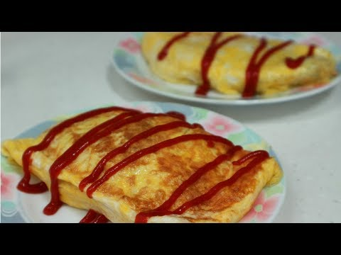 HOW TO MAKE EASY OMELLETE RICE RECIPE 오므라이스 만들기 omurice