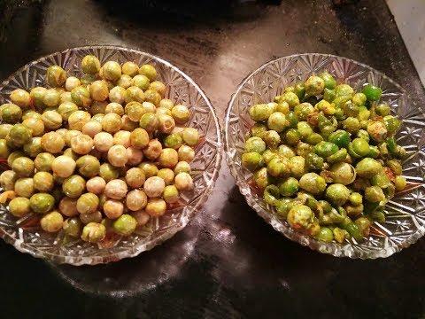 ഗ്രീൻ പീസ് വറുത്തത് / Pattani fry / Green peas fry