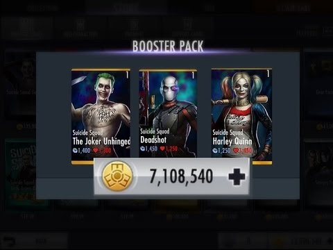 Injustice!! How to get FREE All Suicide Squad Characters & Coins /(iOS devices Only)