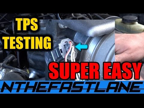 TPS Test & Replace: Ford Ranger/Mazda B-Series