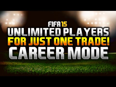 FIFA 15 | CAREER MODE TRADE GLITCH!!! UNLIMITED PLAYERS FOR ONE TRADE!