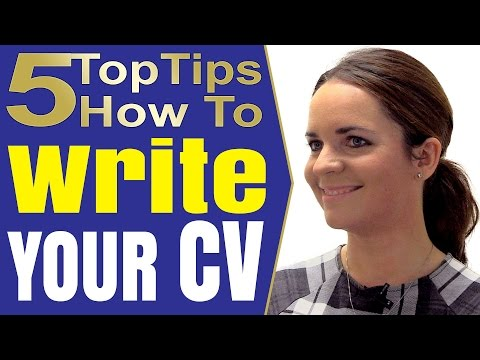 How To Write A Good Resume that works and CV writing tips