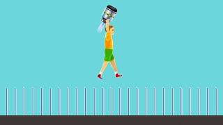 99% IMPOSSIBLE KID CHALLENGES! (Happy Wheels)